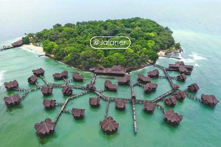 Pulau Ayer spot liburan terdekat setelah corona