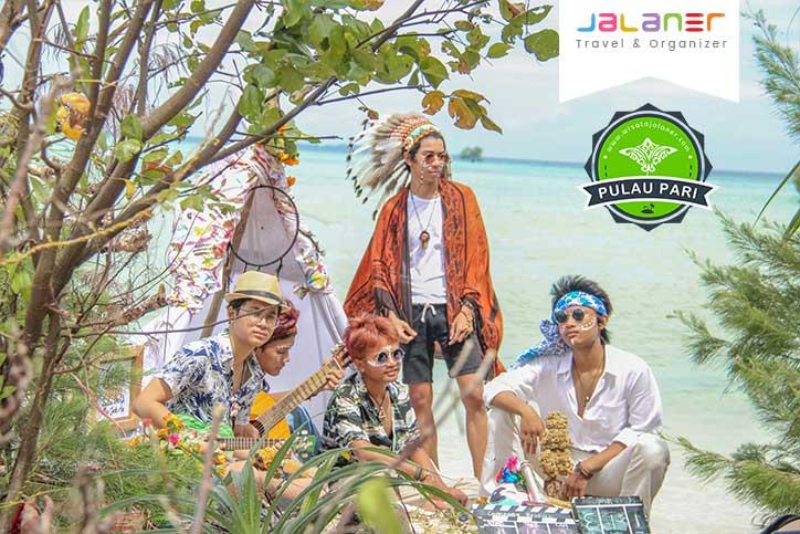 Camping di Pulau Pari Pulau Seribu