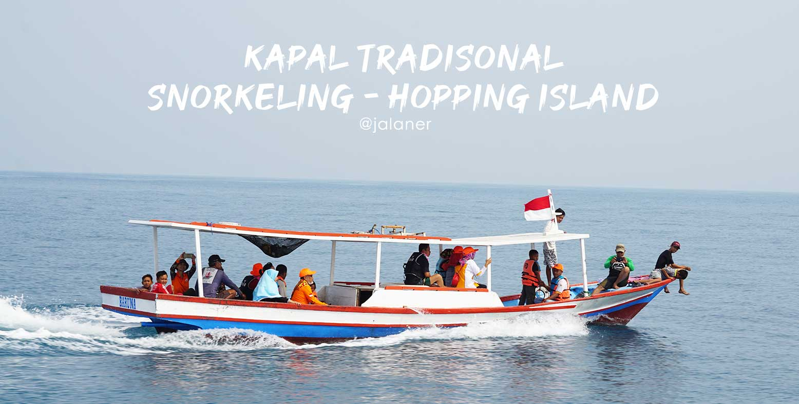 Kapal Snorkeling Pulau Pari